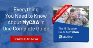 MyCAA Programs for Military Spouses